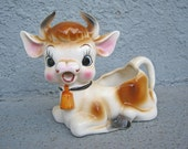 Vintage Sweet Little Cow Creamer by Dabs