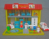 1979 Fisher Price Hospital with Complete Pieces
