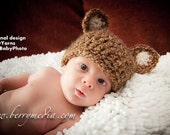 Bear HAT Newborn, Baby HAT Photo prop, Photography Hat, Newborns Hat Photo Prop, Baby Bear Hat Photography, Baby Hat GIFT Photo Shoot Babies