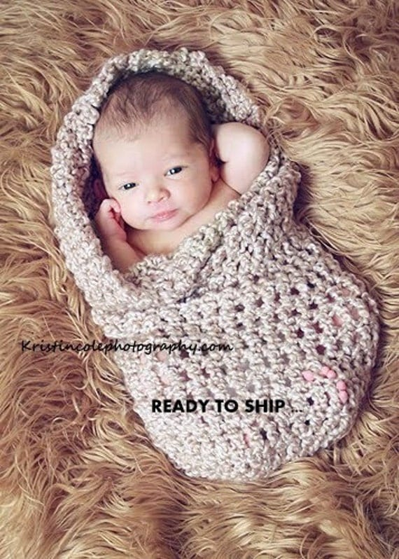 Cocoon Newborn Baby wrap Photo prop in BROWNS Photography Prop