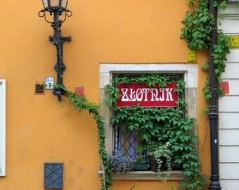 "Fine Art Color Architecture Photography of Poland - ""Zlotnik"""