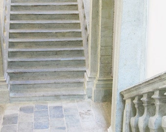 """Fine Art Color Architecture Photography of Stairs - """"Stairway in Radovlica"""" (Slovenia)"""