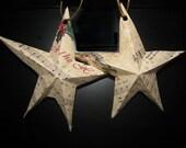 Christmas sheet music stars