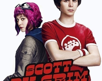 SCOTT PILGRIM-Ramona Flowers 'Chrome' Metal Steampunk Goth Goggles