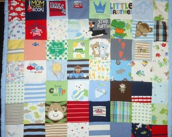 Dress Quilt With Baby Photo