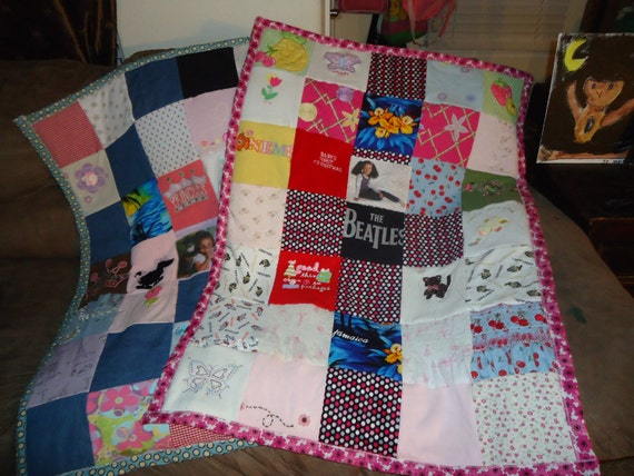 Dress Quilt With Your  Baby Clothes