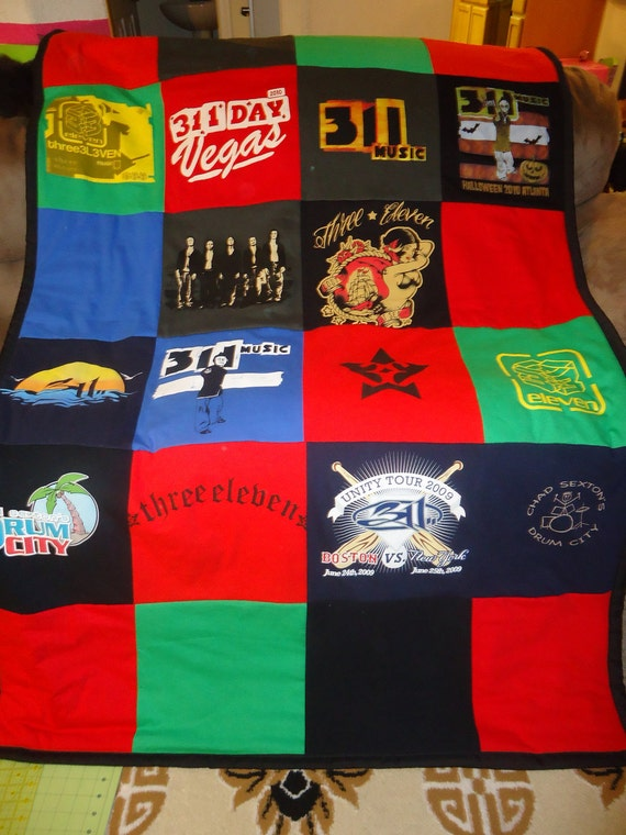 Your 20 Shirts The Quilt