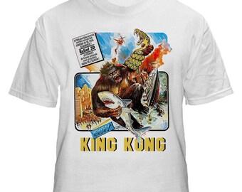 King Kong B Movie Mens White Tshirt M L XL XXL