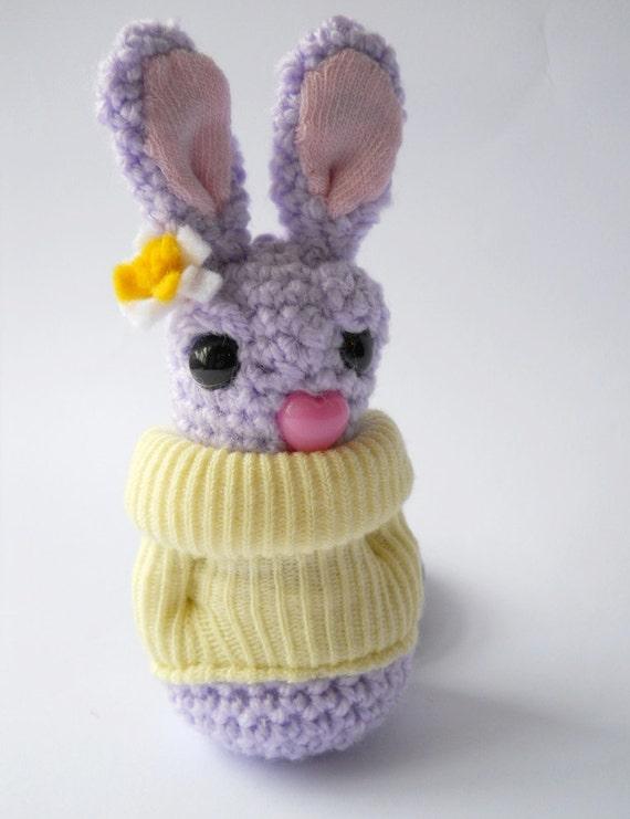 sale Amigurumi crochet animal bunny rabbit by ...