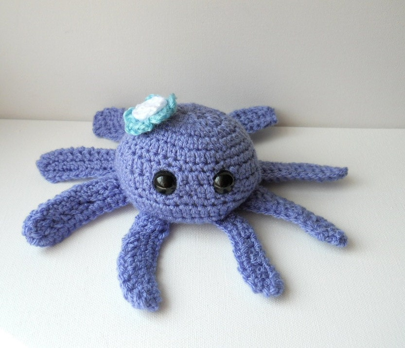 Amigurumi octopus sale kawaii crocheted animal plush