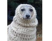 PDF Crochet Pattern for  Dog  Snood