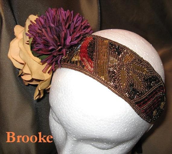 Tribaret, Tribal Fusion Bellydance Headband, Brooke