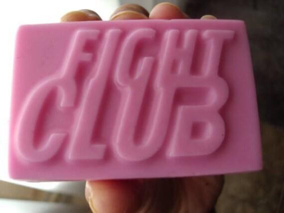 3 Handmade Vanilla soap FIGHT CLUB