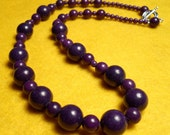Mojo - Purple mountain jade necklace