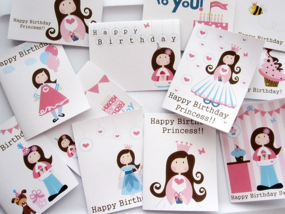 Custom Order for Anali : 12 Greeting cards assorted designs from my shop