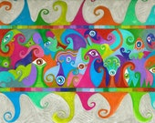 """Psychedelic Drawing Print """"Mirrored Eyes"""" Buy One Get One Free"""