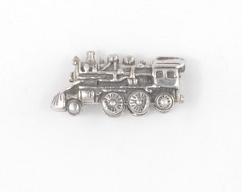 Sterling Silver Clasmeyer Train Engine Bead