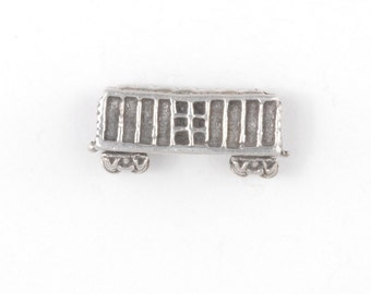 Sterling Clasmeyer Boxcar Bead