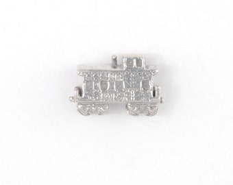 Sterling Silver Clasmeyer Caboose Bead