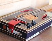 Cigar Box Guitar - 3-String 'Punch' Hollow-Body Electric