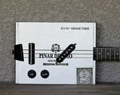 Cigar Box Guitar - 3-String 'Pinar Del Rio' Hollow-Body Electric No. 84