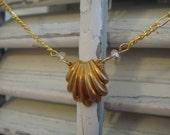 Ariel - A Repurposed Vintage Necklace