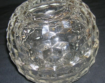 Vintage Indiana Whitehall Candle Lamp Crystal