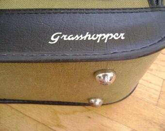 Vintage 'Grasshopper' Suitcase