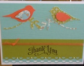 birdie thank you card