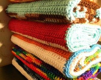 Assorted Crochet Rectangles
