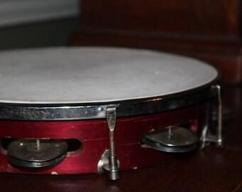 Vintage  tambourine  Vintage Musical  Instrument 1960s