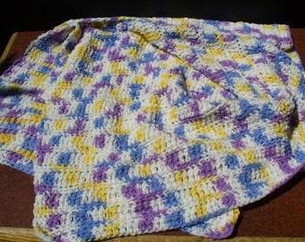 Violet Veil Baby Blanket