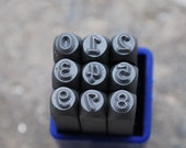 3mm Number Set for Metal Stamping-Metal Supply Chick-Supplies to Make Personalized Jewelry-MSC2N