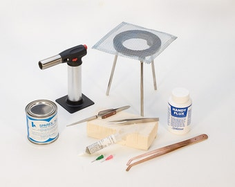 Deluxe Soldering Kit with Pickle Pot-Comes with everything you need-Plus a Free How to DVD-Get started TODAY