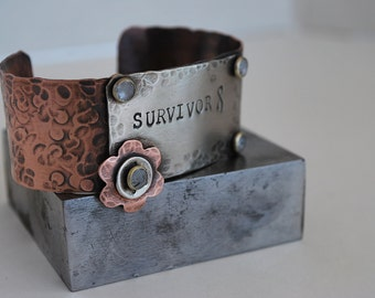 Copper Bracelet Cuff Stamping Blank-Qty. 3- 1 1/4 x 6 in. - 20g.-1 1/4 in. x 6 in. Easy to work with- Quantity 3-Use alone or rivet