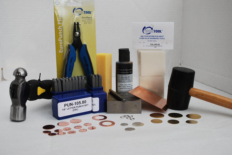 jewelry stamping kit metal stamping kit by metal supply