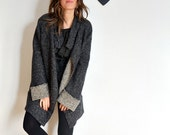 Grey and Gold wool Coat