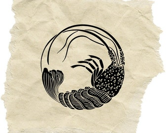 Spiny Lobster Stamp