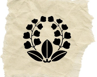 A Lily of The Valley Stamp