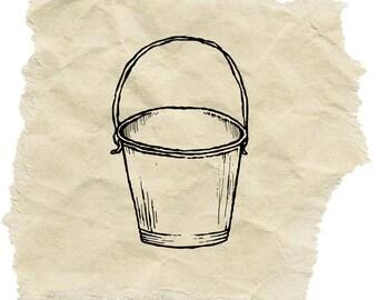 Antique Pail/Bucket stamp