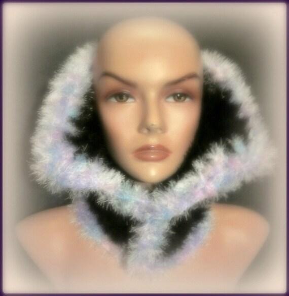Faux Fur Super Soft Cowl Hood Neckwarmer Hoodie Fall Winter Women Fashion Accessories Free Shipment