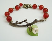 Summer Twig - Brass and Agate