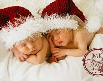 CRAFT FAIR  SALE Fuzzy Santa hat