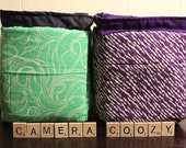 CUSTOM - DSLR Protective & Convenient Camera Coozy Bag/Purse Insert - Made to Order