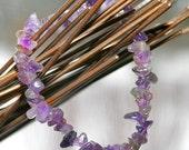 Bracelet for Fertility - BALANCE - Infertility Gemstone Stretchy Bracelet with your choice of charm