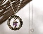 Fertility Necklace, Hope Necklace, Natural Gemstone, Chakra, Balance Chakra, Balance Jewelry, Fertility Gift, TTC, The Fertile Garden