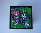 RESERVED for Gwen -Day of the Dead decorative box