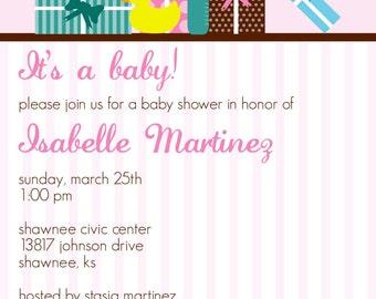 Shower Gift Baby Shower Invitation