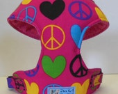 Peace Comfort Soft Dog Harness - Made to Order -