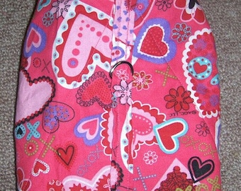 Valentine Harness-Vest Coat for small dog (Last one)